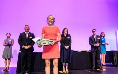 Sharna Glover wins QRC 2021 'Exceptional Woman in Queensland Resources Technological Innovation' Award